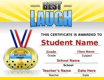 10 Free Editable School Awards - End of the Year Awards