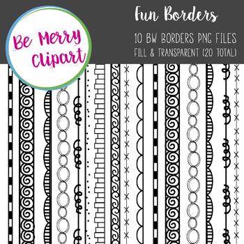 10 Fun Borders