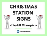 20 Fun Christmas Activity Station Signs for PE Class