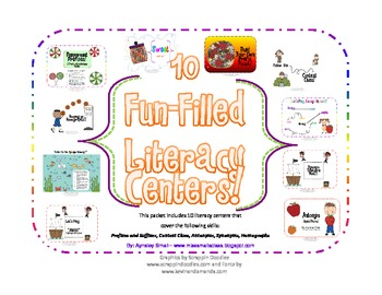 10 Fun-Filled Literacy Centers!