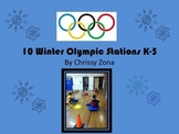 10 Fun Winter Olympic Physical Education Stations K-5