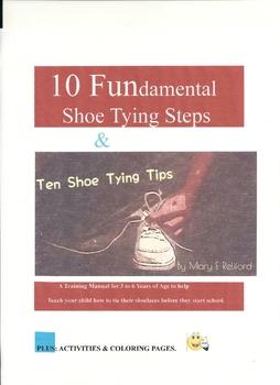 10 Fundamental Shoe Tying Steps