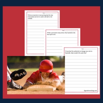 10 GRAND SLAM BASEBALL WRITING PROMPTS
