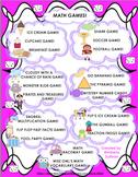 Math Games! Money Basic Operations Grades 4-6  Task Cards