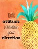 10 Growth Mindset Posters: Tropical Theme