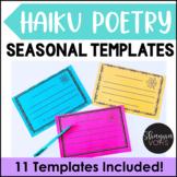 10 Haiku Poem Templates