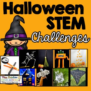 10 Halloween STEM Challenges