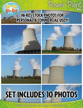 10 Power Plant Stock Photos Pack — Includes Commercial License!
