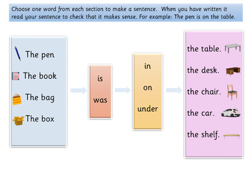 10 High Frequency Sentence Writing Word Frames - Set 2