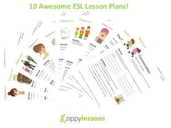 10 High Quality ESL/EFL lesson plans