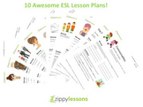 10 High Quality ESL/EFL lesson plans for B1 Intermediate Students!