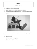 10 High Quality Spanish GCSE Photocards for AQA : Free time activities