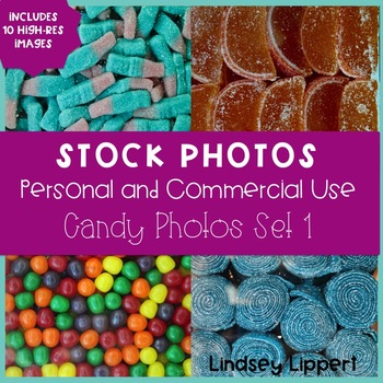 10 High-Res Stock Photo Candy, Set 1 - COMMERCIAL LICENSE
