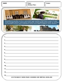 10 History Writing Prompt Sheets Pack 1