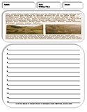 10 History Writing Prompt Sheets Pack 3