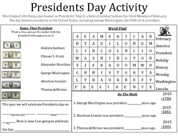 10 Holiday Activity Worksheets
