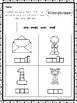 10 Homonyms/Homophones Box Writing Worksheets. Kindergarten-1st Grade ELA.