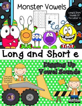 10 INTERACTIVE DIGITAL TASK CARDS - Long and Short Vowels
