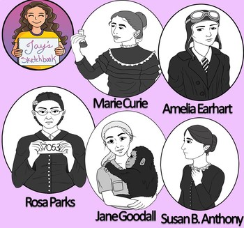 Women's History Clipart