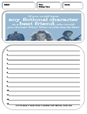 10 Informative/Explanatory Writing Prompt Sheets Pack 10