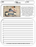 10 Informative/Explanatory Writing Prompt Sheets Pack 3