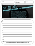 10 Informative/Explanatory Writing Prompt Sheets Pack 4