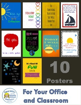 10 Inspirational Classroom and Office Posters