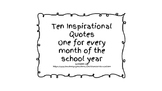 10 Inspirational Quotes Creative Writing Ideas