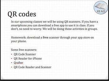 10 interesting Shakespeare facts with activities using QR codes for smartphones