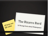 10 interesting Shakespeare facts with activities using QR