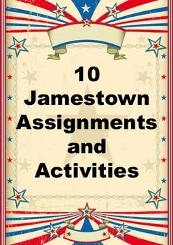 10 Jamestown Assignments and Activities