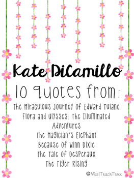 10 Kate DiCamillo Quotes