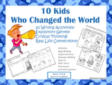 10 Kids Who Changed the World