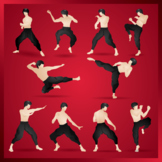 10 Kung Fu Fighter Icons