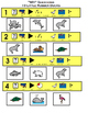 """10 LITTLE RUBBER DUCKS ADAPTED book, """"wh"""" questions, bw pr"""