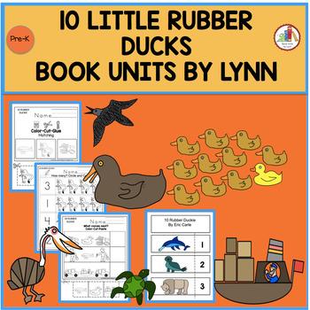 10 LITTLE RUBBER DUCKS BOOK UNIT