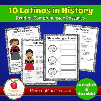 10 Latinas in History Combo Pack