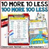 10 More 10 Less | 100 More 100 Less | 1st Grade Math
