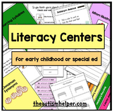 10 Literacy Centers for Special Education
