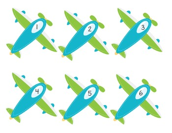 10 Little Airplanes and Cars (A Song for ELL/ESOL) {FREEBIE}