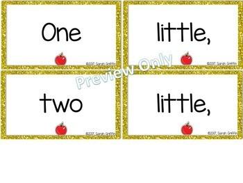 Build a Poem ~ Ten Little Apples - Pocket Chart Center