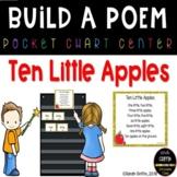 Build a Poem  Ten Little Apples - Pocket Chart Center