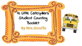 10 Little Caterpillars Student counting Book