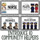 10 Little Community Helpers Storybook for Emerging Readers