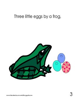 10 Little Easter Eggs: A printable counting story