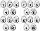 10 Little Easter Eggs -- Easter Number Order Craftivity -- 1-10 and 10-100