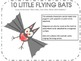 10 Little Flying Bats Songs, Number Flashcards and 10 Puppets
