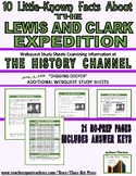 Lewis and Clark: 10 Little-Known Facts: History Chan. Webq