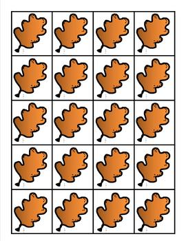10 Little Leaves Poem and Pocket Chart Activities