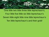 10 Little Leprechaun's